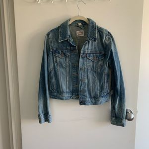 Levi's fitted denim jacket